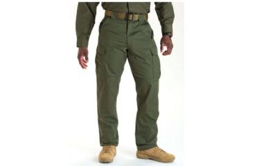 5.11 Tactical 74004 TDU Poly/Cotton Twill Pants, TDU Green, Large, Short