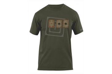5.11 Tactical Card Tricks Logo T Shirt - Od Green - S 41006AG-182-S