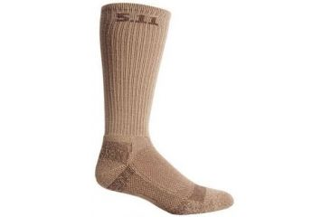 5.11 Tactical Cold Weather Crew Sock - Coyote, Size  L/XL 10012-120-L/XL