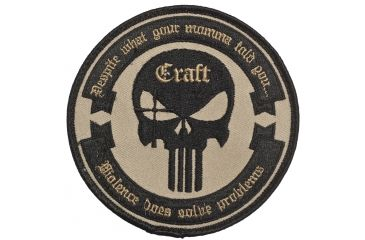 5 11 Tactical Craft Round Patch Free Shipping Over 49