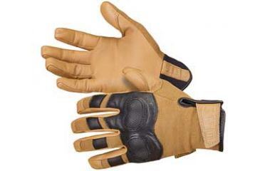 5.11 Tactical Hard Time Gloves, Large, Coyote Brown 59354-120-L