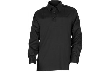 5.11 Tactical Ls PDU Rapid Shirt - Black, Length R, Size L 72197-019-L-R