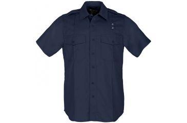 5.11 Tactical Men's Taclite PDU Class A Shirt S/S, Midnight Navy, 71167