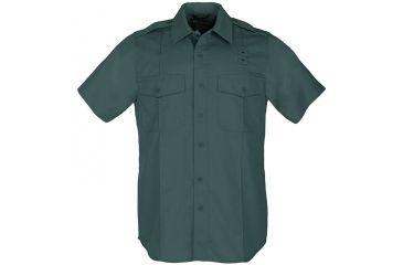 5.11 Tactical Men's Taclite PDU Class A Shirt S/S,  Spruce Green 71167