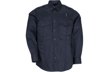 5.11 Tactical Mens Taclite PDU Class B Shirt, Midnight Navy 72366