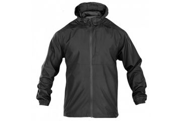 5.11 Tactical Packable Operator Jacket, Black, L 48169-019-L