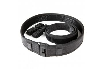 5.11 Tactical Sierra Bravo Duty Belt, Black, L 59505-019-L