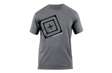 5.11 Tactical Slant Scope Logo T Shirt - Charcoal - M 41006AH-018-M
