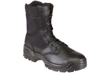 5.11 Tactical Speed 2.0 8in. Boots w/ Side Zip - Black, Width R, Size 4 12225-019-4-R