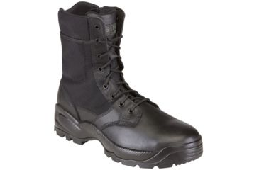 5.11 Tactical Speed 2.0 8in. Boots w/ Side Zip - Black, Width R, Size 8 12225-019-8-R