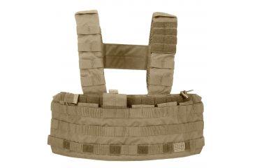 5.11 Tactical Tac Tec Chest Rig, Sandstone 56061-328-1 SZ