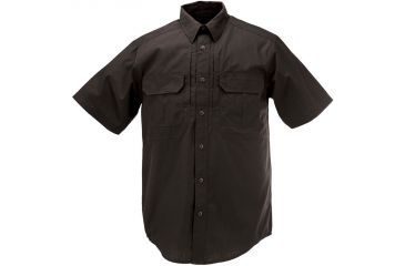5.11 Tactical Taclite Pro Shirt, Short Sleeve Ripstop, Black 71175