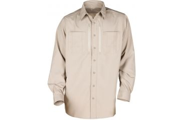 5.11 Tactical Traverse Shirt - Khaki, Size  L 72390-055-L