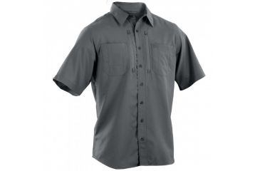 5.11 Tactical Traverse Short Sleeve Shirt, Storm, L 71333-092-L