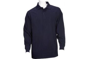 5.11 Tactical Utility Long Sleeve Polo Shirt - Dark Navy - XS 72057-724-XS