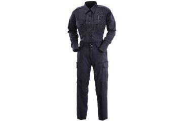 5.11 Tactical Mens A Class Shirt, Short Sleeve, Poly-Rayon - Midnight Navy - S 41137-750-S