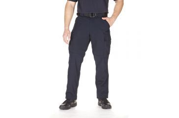 5.11 Tactical TDU Adjustable Ripstop Men's Pants, Dark Navy, Extra Small - 23.5-27in Waist, Short 29.5in Inseam