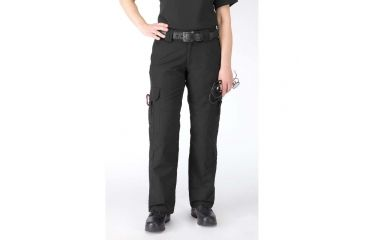 5.11 Women's Taclite EMS Pants - Black, L, Size 16 64369-019-16-L