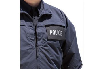 5.11 ID Panel For Response Jacket - POLICE Front 59119F