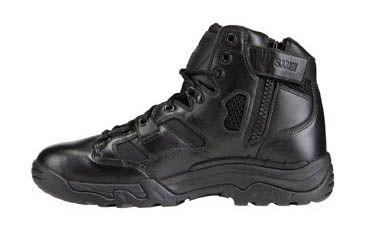 5.11 Tactical Taclite Black Boots w/ Zipper