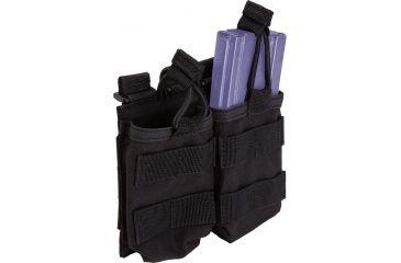 5.11 Double Mag Pouch w/ Bungee 58710 - Black
