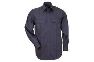 5.11 Long Sleeve Station Shirt, Fire Navy