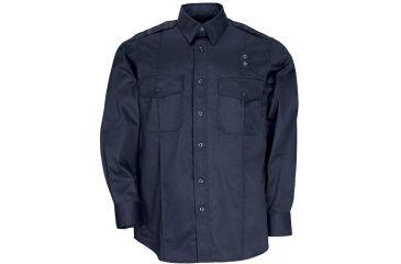 5.11 Tactical Men's Taclite PDU L/S Class A Shirt, Midnight Navy, Size L-R 72365-750-MIDNIGHT NAVY-L-R