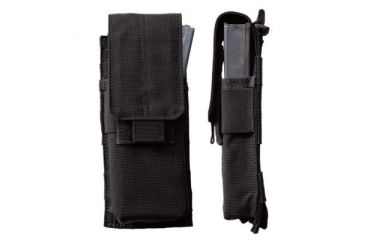 5.11 Single Mag Pouch w/ Cover, Black