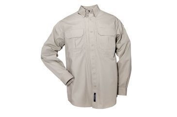 5.11 Tactical Pro Shirt Long Sleeve, Cotton 72157, Sage, Size L SAGE-L