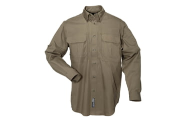 5.11 Tactical Pro Shirt Long Sleeve, Cotton 72157, Tundra, Size XS TUNDRA-XS