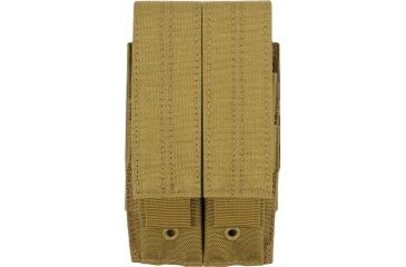 511 Tactical Double Pistol Magazine Pouch Flat Dark Earth Brown 58712-131