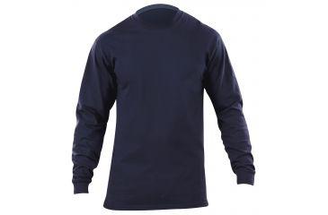 5.11 Station Wear Long Sleeve T-Shirt FIRE NAVY    L