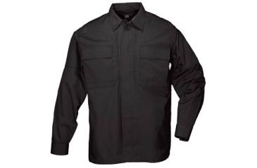 5.11 Tactical Taclite TDU Long Sleeve Shirt, Black
