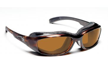 7 Eye Churada Dark Tortoise Sharp View Copper Sunglasses 160642