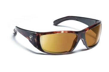 7 Eye Maestro Sunglasses, Dark Tortoise Frame, SharpView Copper Lens 590642