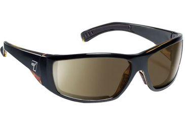 7 Eye Maestro Sunglasses Black Tortoise Frame Coloramp Copper Nxt Lens 595521