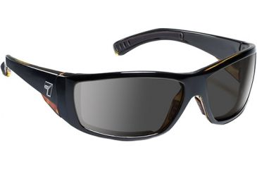 7 Eye Maestro Sunglasses, Black Tortoise Frame, SharpView Gray Lens 595541