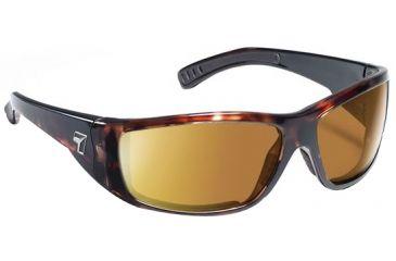 7 Eye Maestro Sunglasses Dark Tortoise Frame 24 7 Copper Nxt Lens 590627
