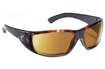 7 Eye Maestro Sunglasses Dark Tortoise Frame Coloramp Copper Nxt Lens 590621