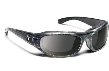 7 Eye Whirlwind Sunglasses, Gray Tortoise Frame, SharpView Gray Lens 123741
