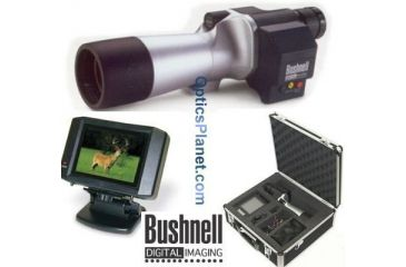 Bushnell 22x60 Digital Imaging Spotting Scope with 4'' LCD Viewscreen 782101