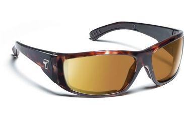 7 Eye 7eye Air Dam Sunglasses Maestro, Sharp View Gray Polarized PC Lens, Dark Tortoise Frame, M-L , Men 590653