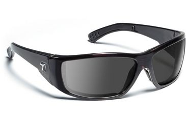 7 Eye 7eye Air Dam Sunglasses Maestro, Sharp View Clear Lens, Mahogany Frame, M-L , Men 595240
