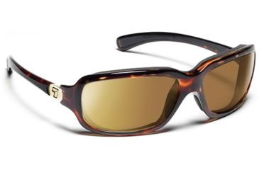 7 Eye 7eye Air Dam Sunglasses Marin, ColorAmp Copper NXT Lens, Black Tortoise Frame, M-L , Men 435521