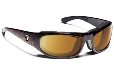 7 Eye 7eye Air Shield Sunglasses whirlwind, Sharp View Gray Polarized PC Lens, Dark Tortoise Frame, L , Men 120653