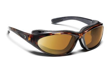 7eye 140642 Bora Rx Progressive Sunglasses Airshield Dark Tortoise Frames
