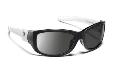 7eye 865946 Dillon Rx Progressive Sunglasses Active Lifestyle Ebony Ivory Frames