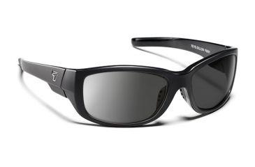 7eye 860146 Dillon Rx Progressive Sunglasses Active Lifestyle Matte Black Frames
