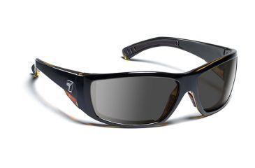 7eye 595541 Mens Maestro Rx Progressive Sunglasses Airdam Black Tortoise Frames