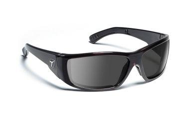 7eye 595241 Mens Maestro Rx Progressive Sunglasses Airdam Mahogany Frames